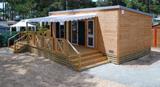 Stacaravan voor 4 personen Premium - 2 slaapkamers - 34 m²