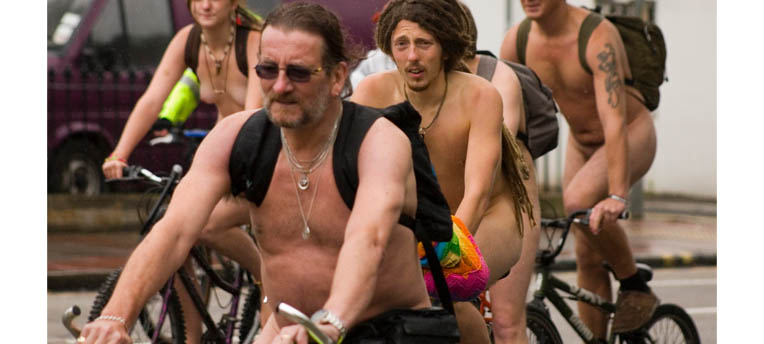 La World Naked Bike Ride : ode à la liberté
