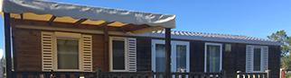 Mobil-home 6/8 personnes Confort - 3 chambres - 33m² à 36,5m²