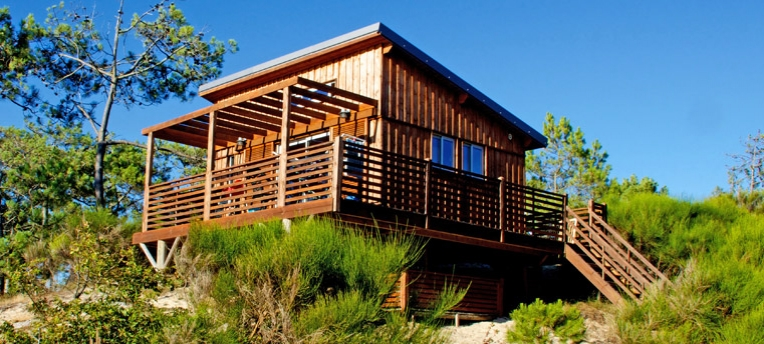Chalet en village naturiste