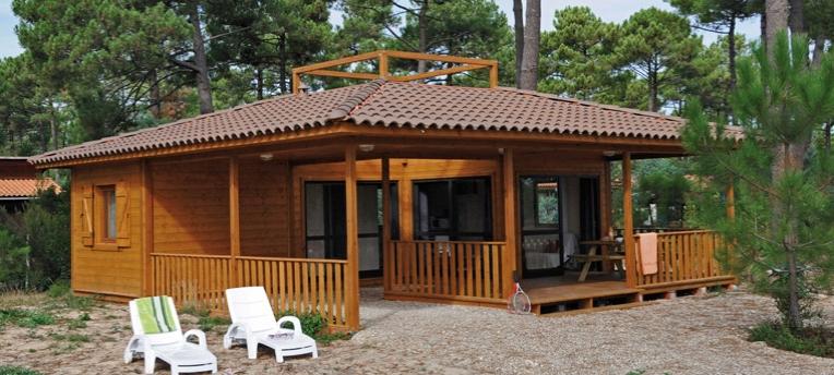 Chalet premium camping naturiste