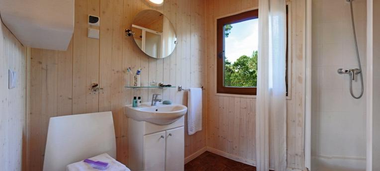 Salle de bain chalet naturiste
