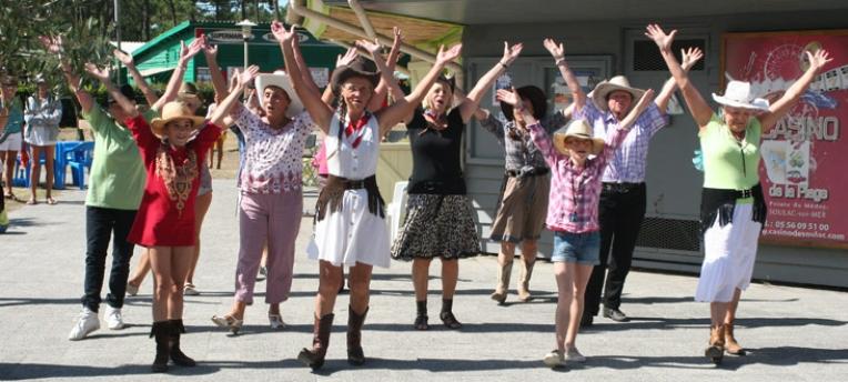 Danse country au CHM