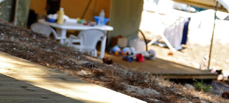 Camping naturiste en tente Naturalodge
