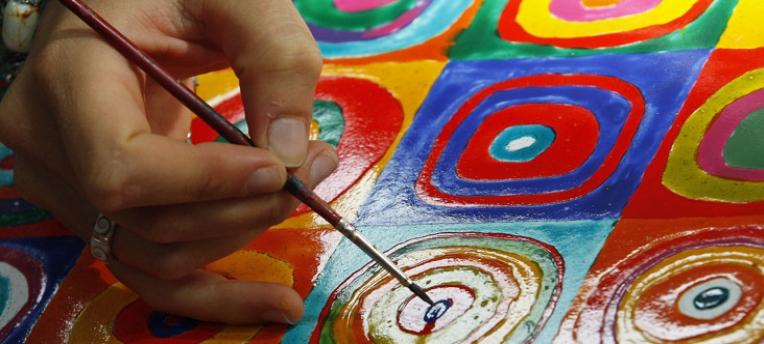Peinture au CHM Montalivet