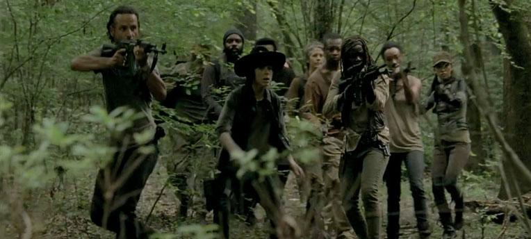 Walking Dead: les acteurs militent pour plus de scènes de nu